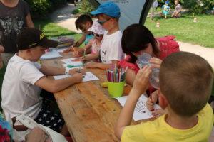 Program pro děti, malování na obličej